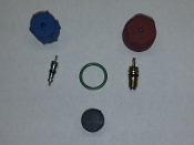 Ports, O-Ring, Caps, Seals & Orifice Tube