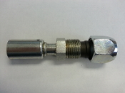 #10 Compression Fitting (Steel Reduced)