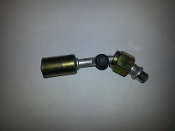 #8 Female O-Ring 45° (Aluminum Standard) (R12 Side Service Port)