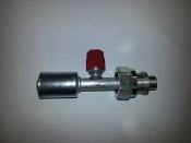 #8 Female Tube-O (Aluminum Standard)(R134a Service Port 16mm)