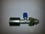 #12 Female Tube-O (Aluminum Standard)(R134a Service Port 13mm)