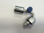 #10 Female O-Ring 135° (Aluminum Standard) (R134a Service Port)